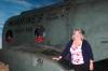 Jeannie Kelly (Nickerson) at Purple Fox CH-46 exibit at NMMC