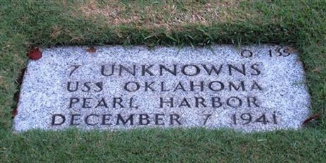 USS Oklahoma Punchbowl