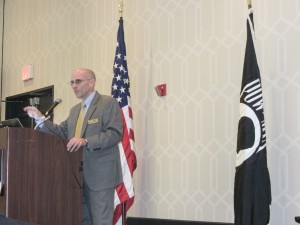 Rob Goeke is DPAA External Communications Directorate. A retired Navy Commander, Goeke has been involved with the POW/MIA mission since 1994.