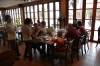 Craig, Doug, Brett and the Nevgloski family at Furama Restaurant--Danang