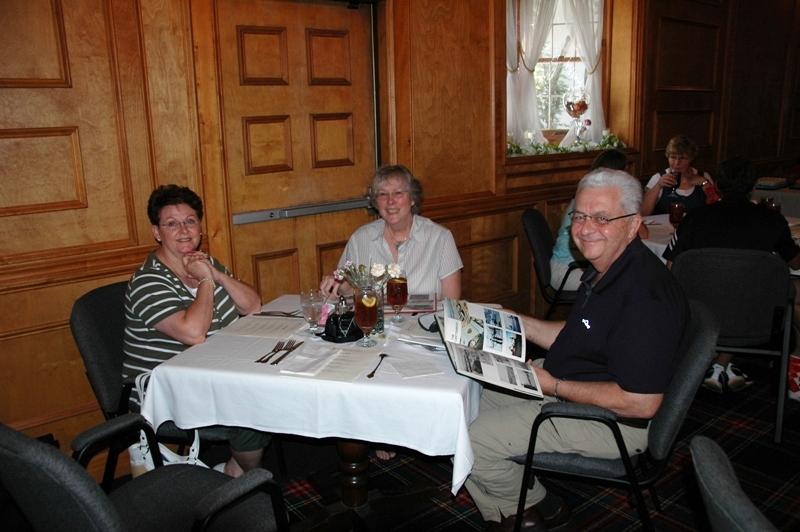 Jeannie Featherstone, Katie & John Westfall.