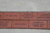 NMMC Commemorative Bricks from Jerry Zimmer\'s and Charlie Pigott\'s friend and fellow USMC F-4 pilot John French