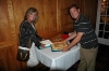 Elaine & Craig with Jerry\'s Tribute Cakes