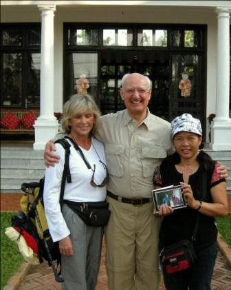 Elaine, Gene and Hua (Interpretor)