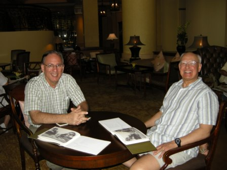 Doug Reese & Gene Mares in Hoi An