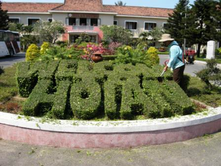Hoi An Hotel has beautiful landscaping, and it\'s a well respected hotel, too.