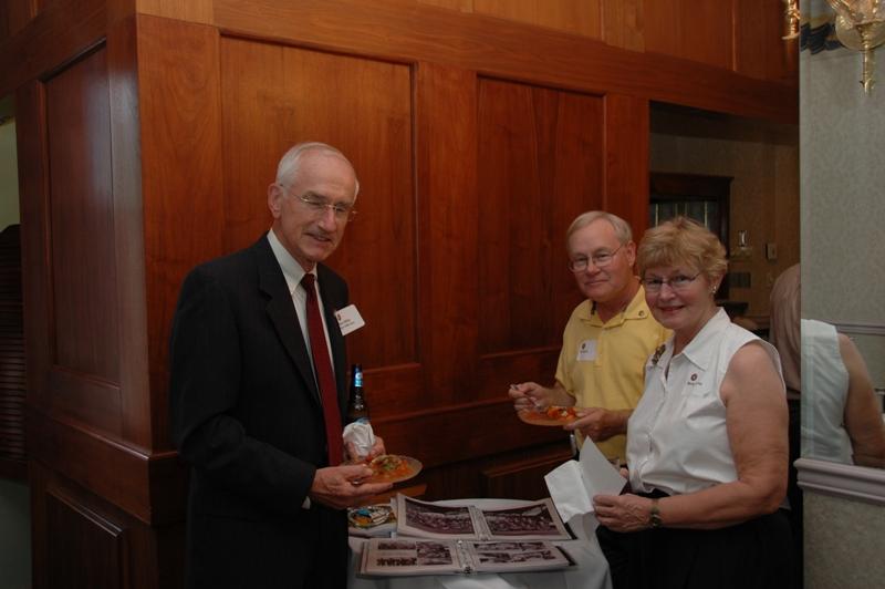 BGen Gerry Miller, USMC (Ret), Art Sauer & Molly Frantz