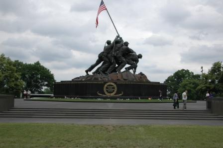 Marine Memorial, 300 meters North of Jerry\'s Memorial Stone