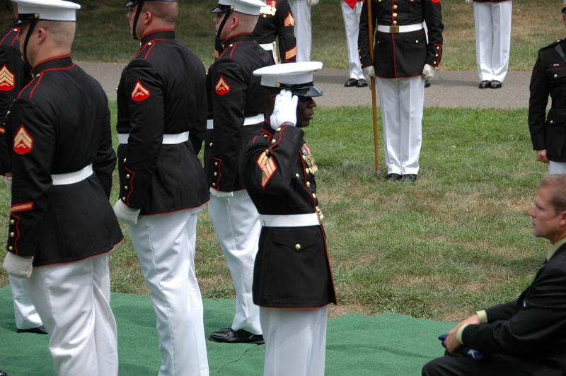 Gunny Dixon, Funeral Director of the Marine Corps