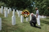 Col Jack Gagen. USMC (Ret), Jerry\'s wingman and Jeff McMaster paying respects