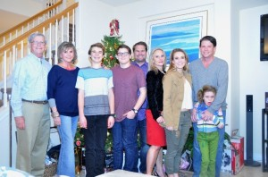 Ron & Elaine Davis; Matt, Nick, Craig, Bea & Alie Zimmer; Brett & Breeze Davis