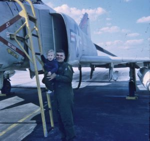 Remembering Jerry... Jerry and Craig at Beaufort, SC, prior to his deployment to Vietnam.